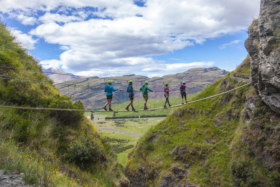 Wild Wire tours are perfect for anyone who loves waterfalls and beautiful views over Wanaka.