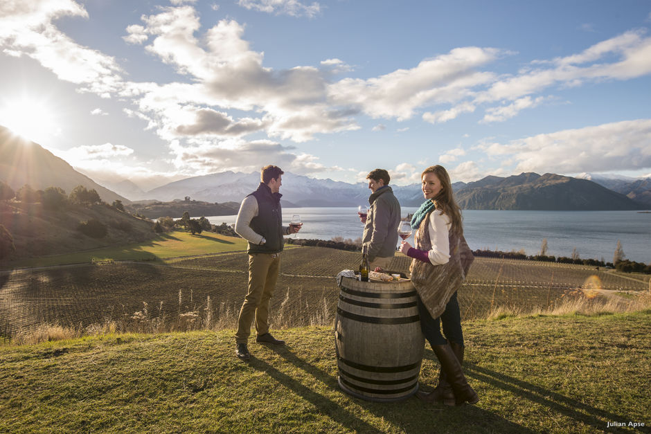 Lake Wanaka's Rippon is representative of the pioneering spirit of the winemakers in Central Otago - the world's southernmost wine producing region.