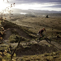Boasting epic views of  the mighty Clutha/Mata-Au River and Wanaka Basin, Deans Bank is the most popular ride for mountain bikers in Wanaka.