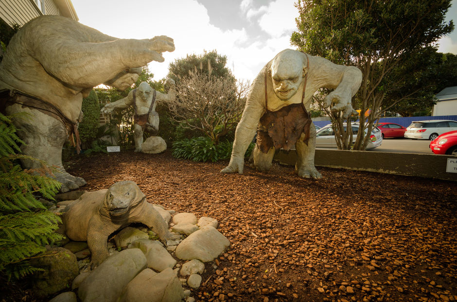 Visit the Weta Cave and workshop