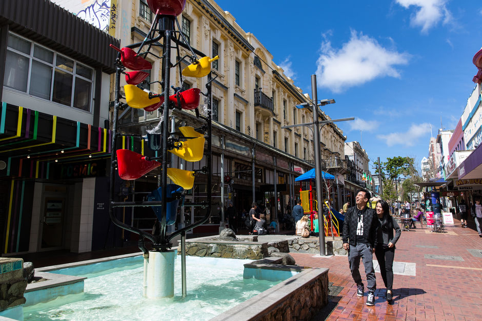 Roam the streets of Wellington, shopping up a storm.