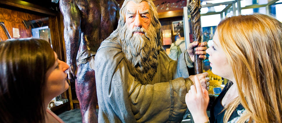 Discover Wellington's movie magic on a behind-the-scenes tour of Oscar-winning Weta Workshop.
