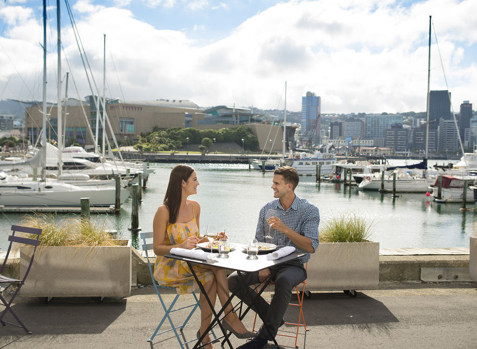 Wellington's sheltered and spectacular harbour is surrounded by a number of attractions. It is also an ideal place to relax and indulge.