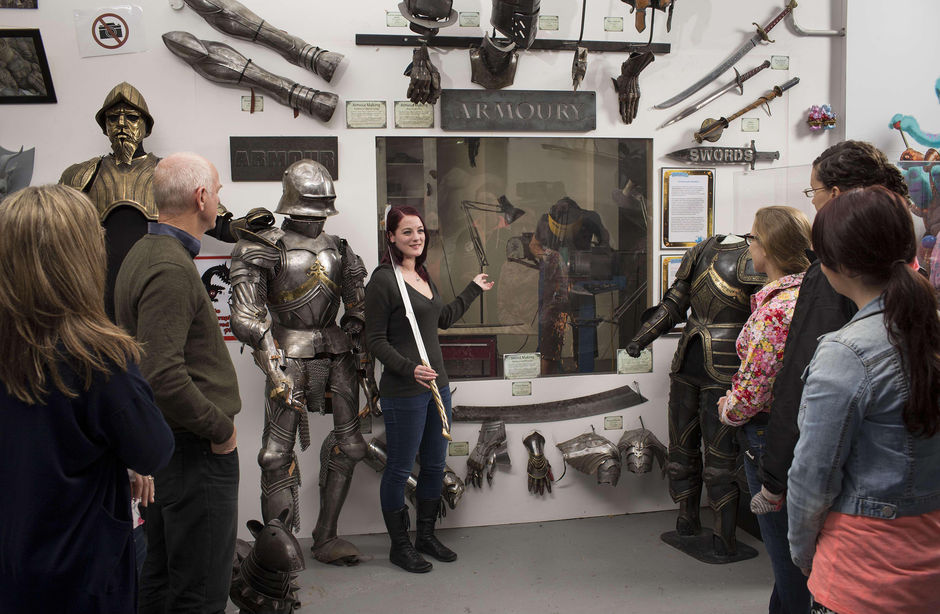 Armoury Room on the Weta Cave Workshop Tour