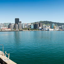 The stunning Wellington waterfront