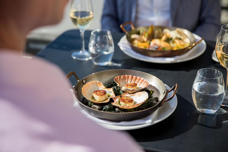 Fresh New Zealand seafood