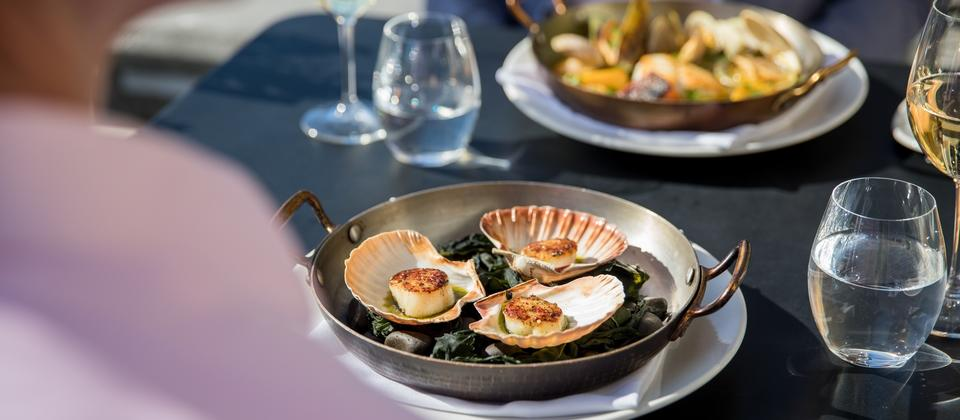 Make sure you choose sustainably caught scallops.