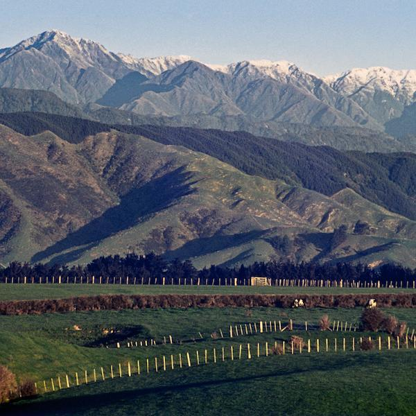 The Tararua Ranges