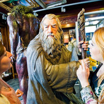 Get a peek into behind-the-scenes movie making with a visit to the Weta Cave, in the capital city of New Zealand.