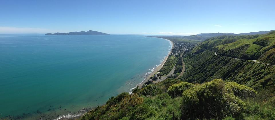 Breathtaking views are just a drive up a hill away in Kapiti