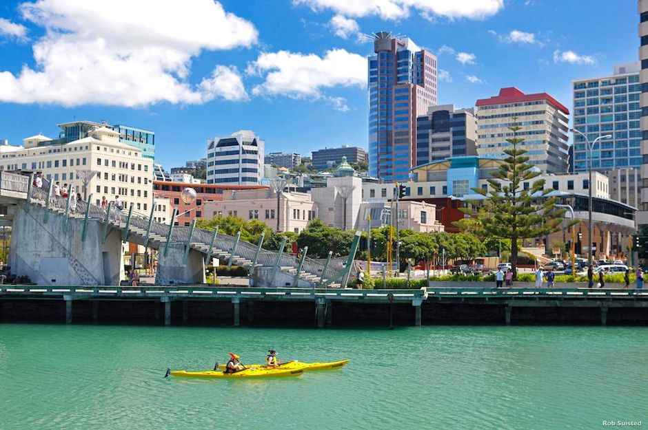 惠灵顿港口(Wellington Harbour)