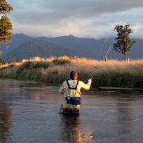 Enjoy some solitude and exciting moments on West Coast rivers.