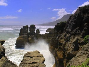 Limestone rocks of Punakaiki