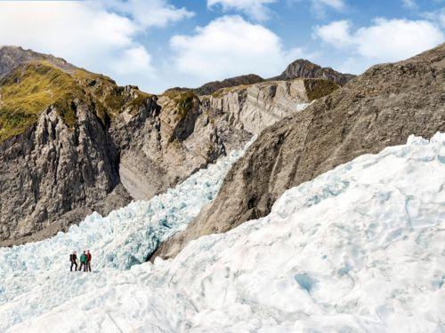 Fox Glacier Franz Josef Glacier West Coast New Zealand