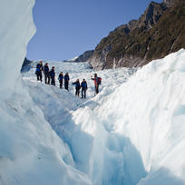 A heli hike on Fox Glacier.