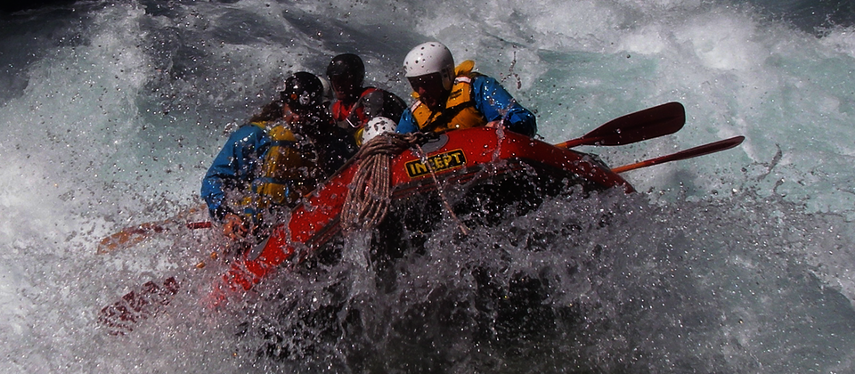 Rafting thrills