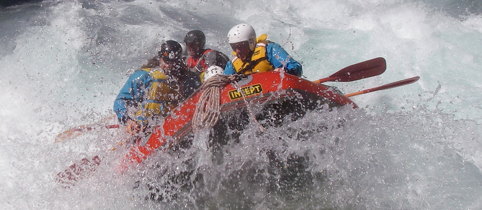 Get your adrenaline pumping on the whitewater rapids of the West Coast.