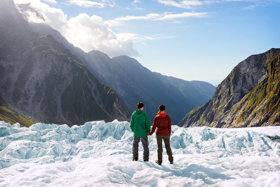 Admire the views from Franz Josef Glacier