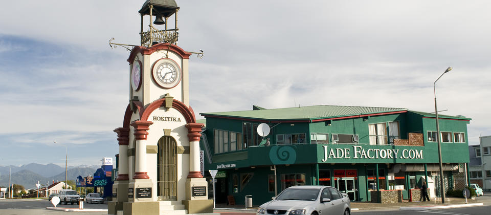 Hokitika is famous for pounamu