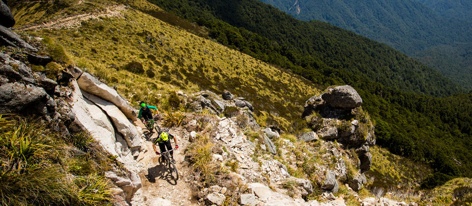 One of New Zealand's newest self-powered adventures, the Old Ghost Road is an unforgettable challenge for experienced hikers and mountain bikers.