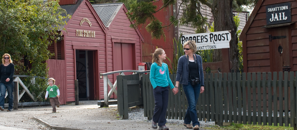 Shantytown Heritage Park on the West Coast teaches visitors about life during New Zealand's gold rush