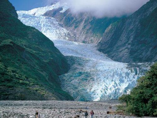 Franz Josef Walk Gletscherpfad West Coast Neuseeland
