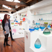 Admire works from talented glass artists when you visit Whanganui