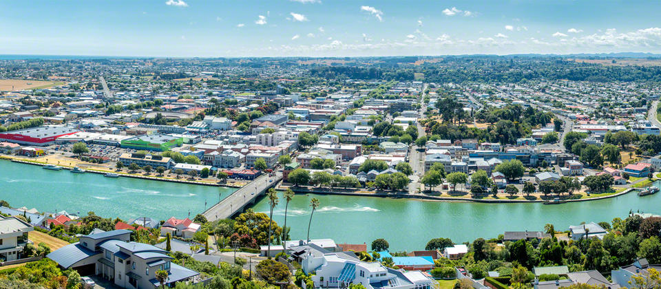 Whanganui River from above