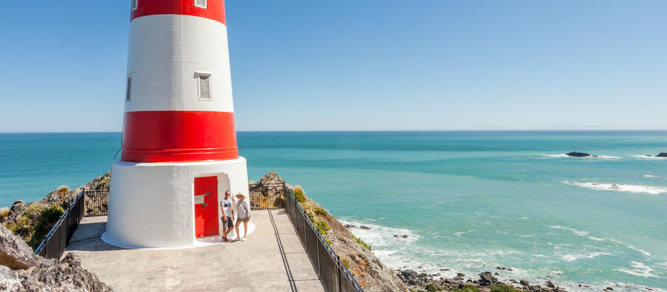 Extraordinary Cape Palliser Lighthouse