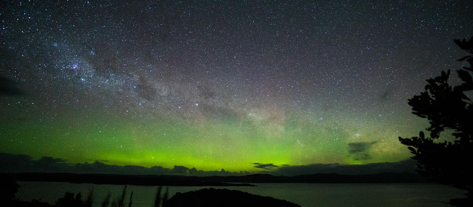 Stewart Island is officially an International Dark Sky Sanctuary, meaning it's a great place to go stargazing.