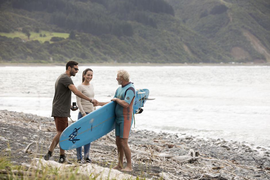 Strike up a conversation along your journey in New Zealand.