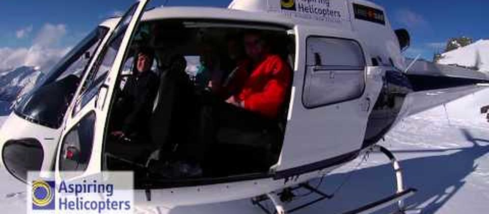 Scenic flights around the Mt Aspiring and Fiordland National Parks