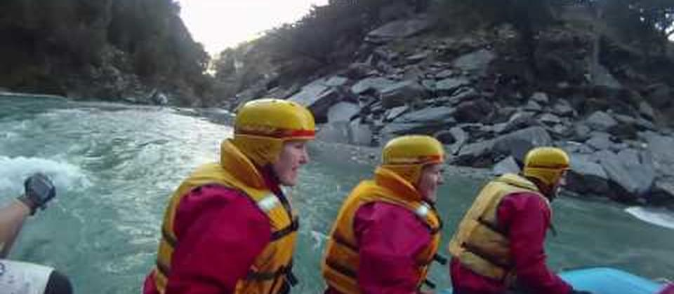 Shotover River Heli Rafting - Challenge Rafting - Queenstown, New Zealand