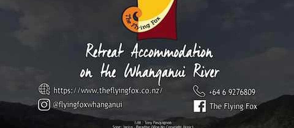 The Flying Fox, Retreat Accommodation on the Whanganui River.