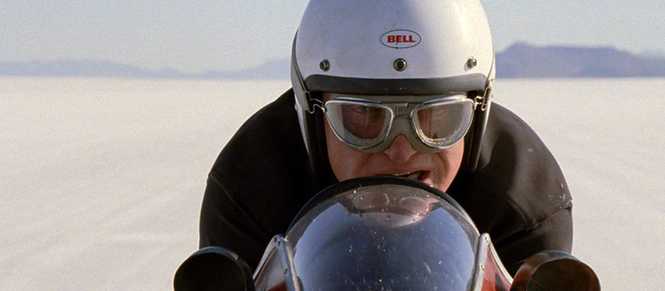 Anthony Hopkins stars as Burt Munro, a man who never let the dreams of youth fade. After a lifetime of perfecting his classic Indian motorcycle