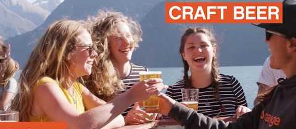 Experience Milford Sound the Go Orange way on the Milford Haven. Newly renovated boat, draft beer, delicious food and outward facing seats!