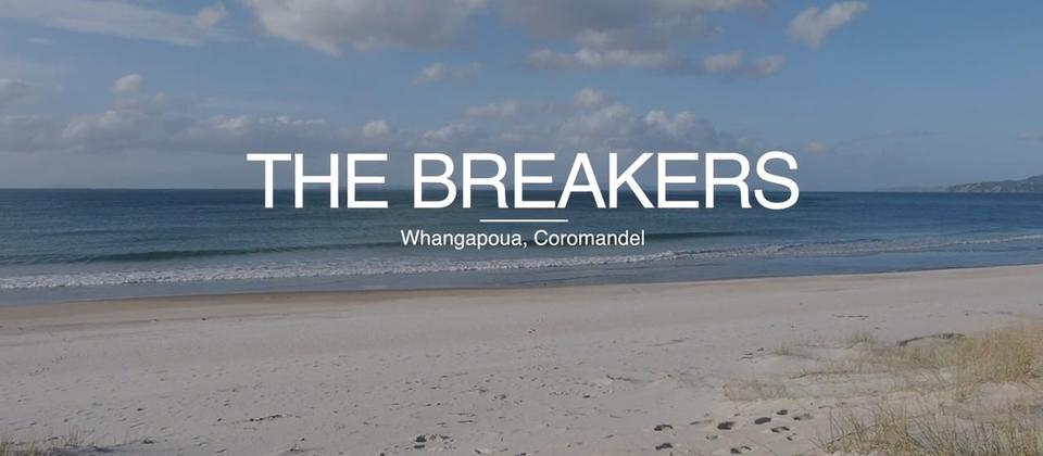 Step inside The Breakers, a spectacular luxury beachfront Whangapoua holiday home