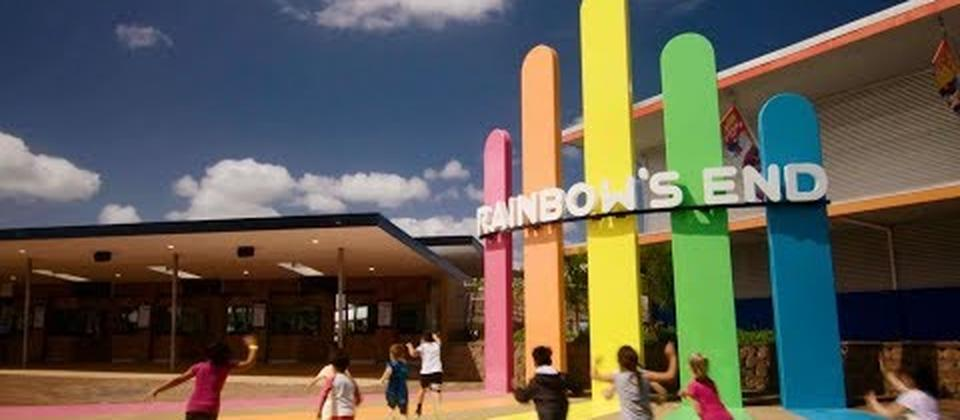 Rainbow's End Theme Park Auckland New Zealand