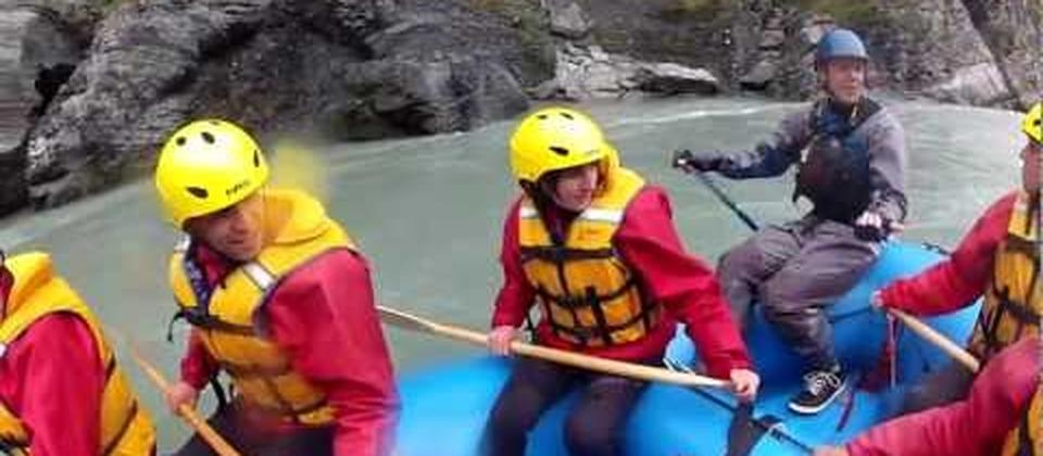 23 November 2012 Getting wet and wild on the Shotover River