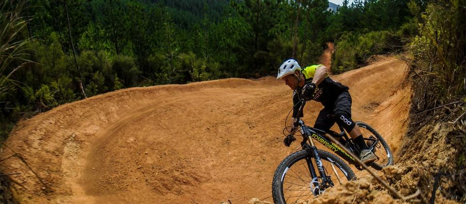 Fourforty mountain bike park is a privately funded project that started over 4 years ago.