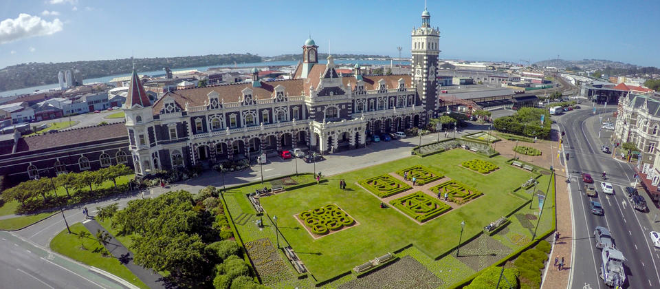 Head far enough down the South Island and you'll find Dunedin, a small city bursting with character.