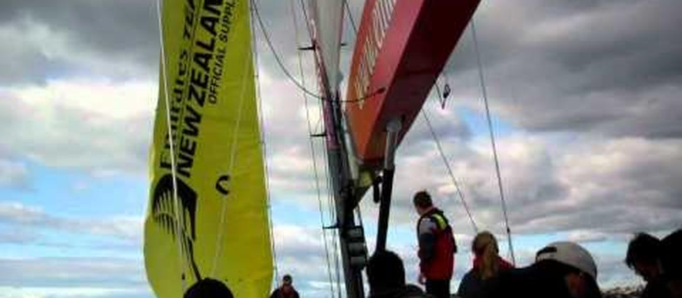 America's Cup Sailing Experience in Auckland
