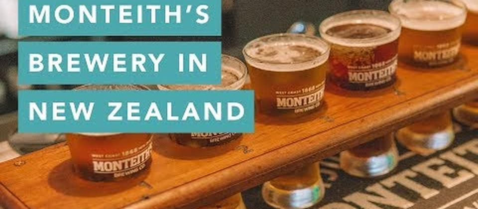 Monteith's Beer Brewery in Greymouth, New Zealand