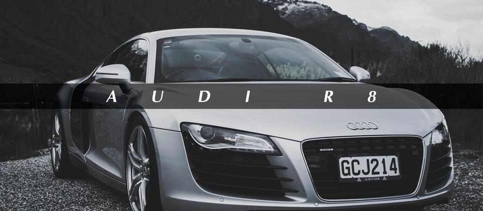 The R8 will change you. Just one look and it's got a hold. You'll be mesmerised by sleek lines, curves and renowned R8 side blades which leave you in no doubt as to the position of the engine. Sit down in front of an arc of controls wrapping around the dr