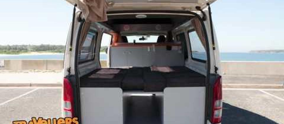 Travellers Autobarn announces first ever own built Toyota Hiace Campervan