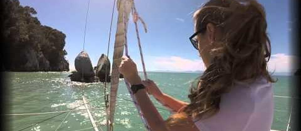 Scenic sailing in the Abel Tasman National Park. Cruise past bushclad coastline and golden sand beaches, lagoons, islands and bays. Enjoy the antics of seals, dolphins and birdlife. Have a go sailing or just sit back and relax. The peaceful, quiet and rel