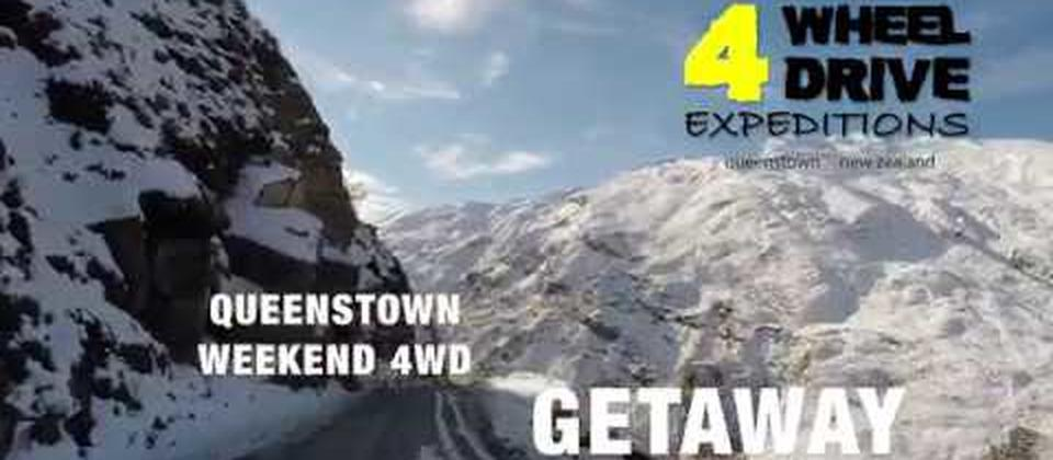 Queenstown weekender four wheel drive getaway