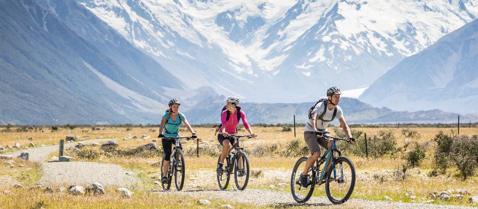 New Zealand's longest cycle trail serves up epic vistas on its way from the foot of the Southern Alps all the way to the Pacific Ocean.