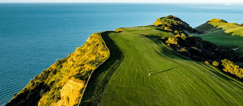 Discover spectacular and diverse New Zealand courses carved out by nature. Learn more: http://www.newzealand.com