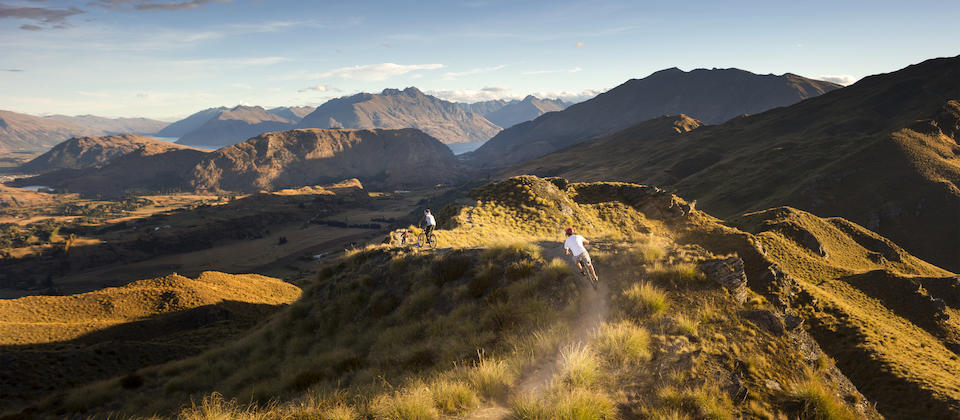 Epic mountain bike tours of NZ
